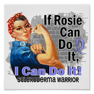 Si Rosie puede hacerlo guerrero del escleroderma Poster