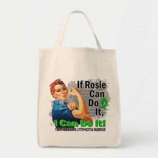 Si Rosie puede hacerlo guerrero del linfoma Non-Ho Bolsa Tela Para La Compra