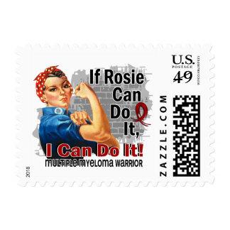 Si Rosie puede hacerlo guerrero del mieloma Estampilla