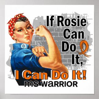 Si Rosie puede hacerlo guerrero del ms Posters