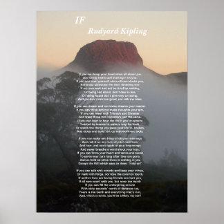 Si - Rudyard Kipling Póster