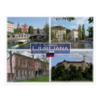 SI Slovenia - Ljubliana - Postcard
