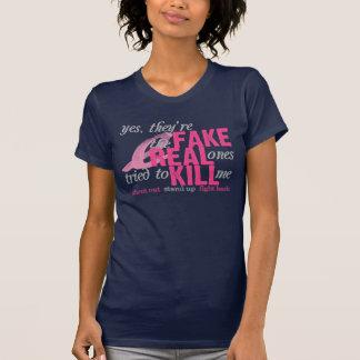 Sí son falsificación las reales intentadas para camiseta