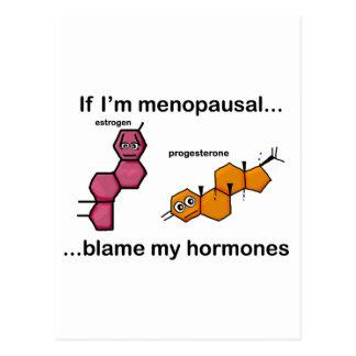 Si soy… culpa menopáusica mis hormonas postales