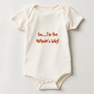 Sí….¡Soy el bebé del cartero! Trajes De Bebé