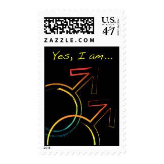 sí, soy gay timbres postales