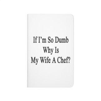 Si soy tan mudo porqué está mi esposa al cocinero cuadernos grapados