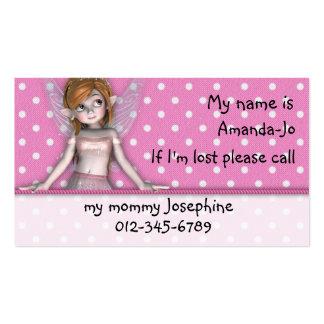 Si soy… tarjetas perdidas tarjeta de visita
