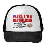 """""""Sí, soy un republicano""""… Casquillo de la bola Gorros"""