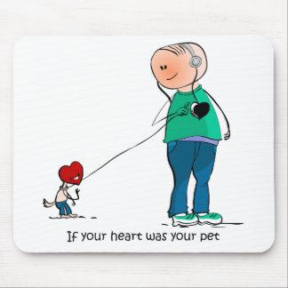 Si su corazón era su mascota tapetes de ratones