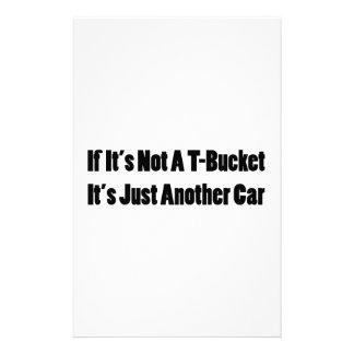 Si su no un Tbucket su apenas otro coche Tbucket Personalized Stationery