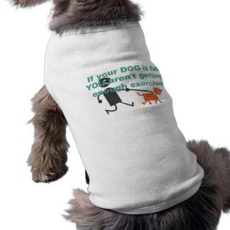 Si su perro es gordo… camisetas de mascota