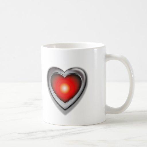 Si tenía solamente un corazón taza
