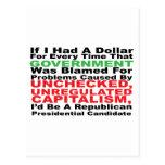 Si tenía un dólar… postales