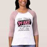 Sí Theyre reales los falsos cáncer de pecho (del Camiseta