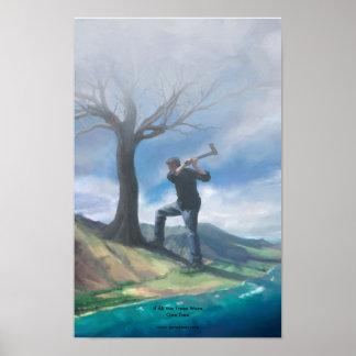 Si todos los árboles eran un árbol posters