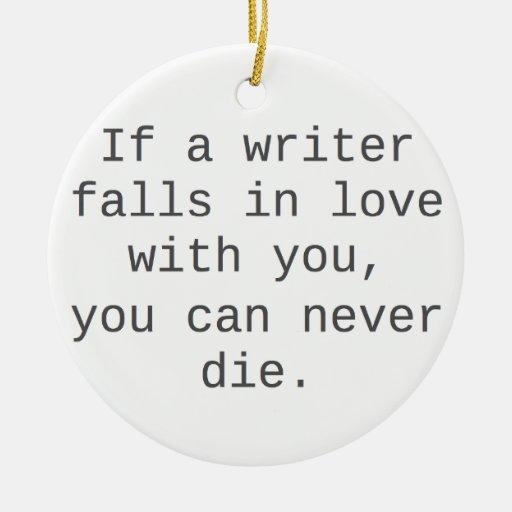 """""""Si un escritor cae en amor con usted…"""" productos Adorno"""