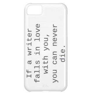 """""""Si un escritor cae en amor con usted…"""" productos Funda Para iPhone 5C"""