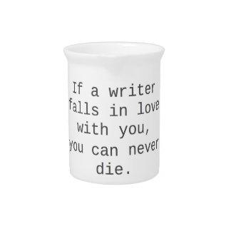"""""""Si un escritor cae en amor con usted…"""" productos Jarrones"""