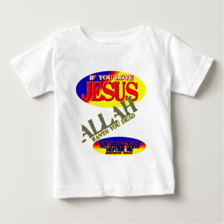 Si usted ama a Jesús…. Remera
