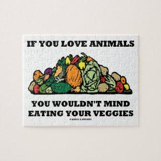 Si usted ama animales usted no importaría de consu puzzles