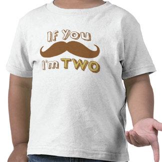 Si usted bigote, yo es la camisa DOS