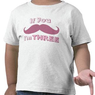 Si usted bigote, yo es la camisa TRES