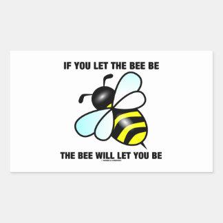 Si usted deja la abeja ser la abeja le dejará ser rectangular altavoces