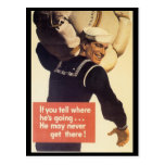 Si usted dice la guerra mundial 2 postal