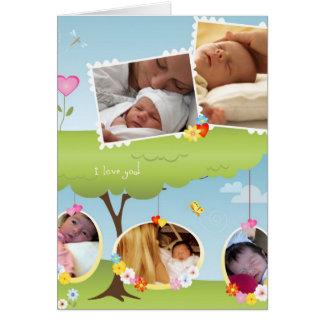 Si usted elige decirle (la tarjeta de la adopción)
