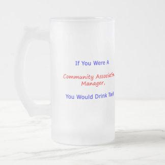 Si usted era una taza de la leva