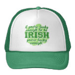 Si usted es bastante afortunado ser irlandés gorros