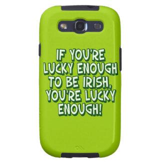 Si usted es bastante afortunado ser irlandés usted galaxy s3 carcasas