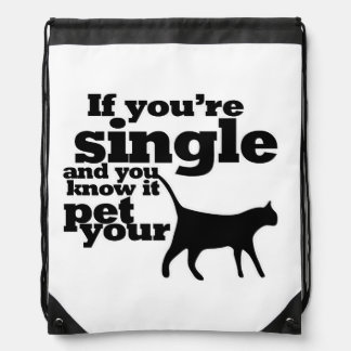 Si usted es solo y usted lo sabe mascota su gato mochilas
