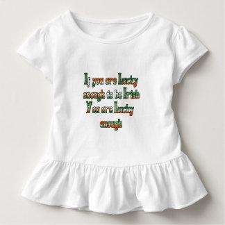 Si usted es suerte bastante de ser irlandés tshirt