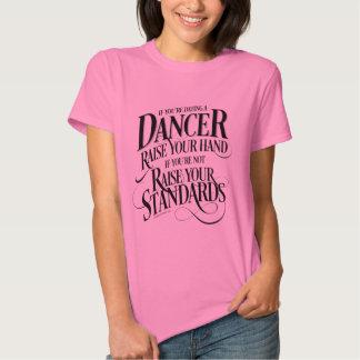 Si usted está fechando a un bailarín remera
