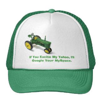 Si usted excita mi Yahoo, Google su MySpace. Gorro