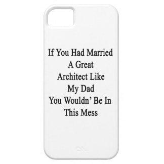 Si usted había casado a un gran arquitecto como mi iPhone 5 funda