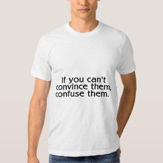 Si usted linado los convence confúndalos polera