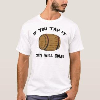 Si usted lo golpea ligeramente vendrán camiseta
