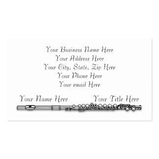Si usted lo tiene - Flaut él las tarjetas de visit Tarjetas De Visita