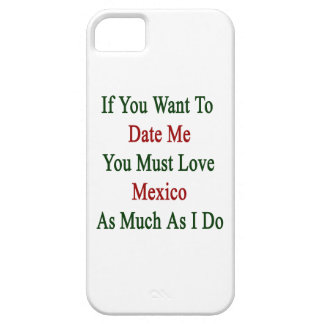 Si usted me quiere hasta la fecha usted debe amar funda para iPhone 5 barely there