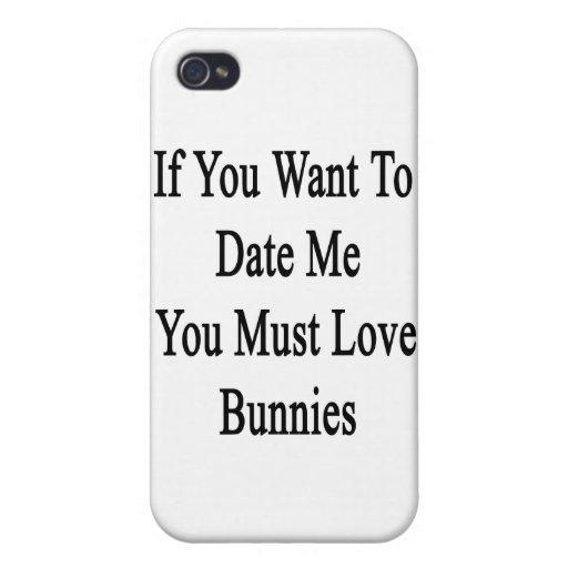 Si usted me quiere hasta la fecha usted debe amar  iPhone 4 cárcasa