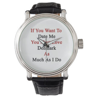 Si usted me quiere hasta la fecha usted debe amar reloj