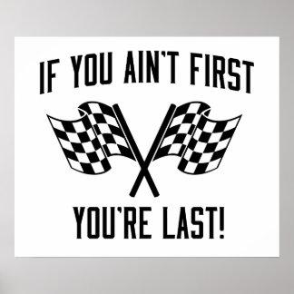 ¡Si usted no es primer usted es dura! Póster