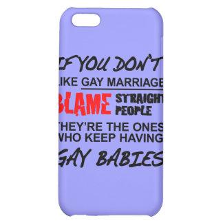 Si usted no hace matrimonio homosexual