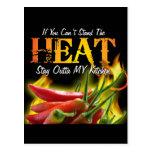 Si usted no puede colocar el calor, permanezca Out Postales