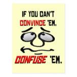 Si usted no puede convencer el Em… Postales