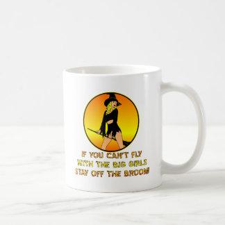 Si usted no puede volar con los chicas grandes per taza