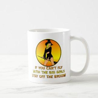 Si usted no puede volar con los chicas grandes taza